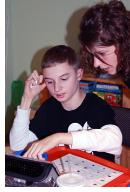 Learning to use an AAC Device